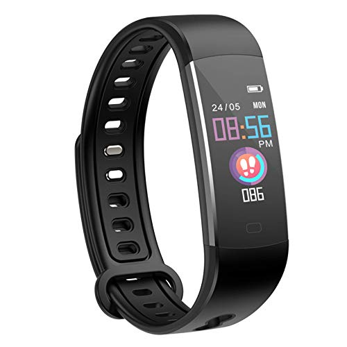 moreFit Kids Fitness Tracker with Heart Rate Monitor,Waterproof Activity Tracker Watch with 4 Sport Modes,Sleep Monitor Fitness Watch with Call & SMS Reminder Alarm Clock,Great Gift (Renewed)