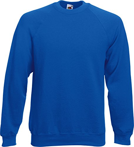 Fruit of the Loom - Sweatshirt 'Raglan Sweat' XL,Royal