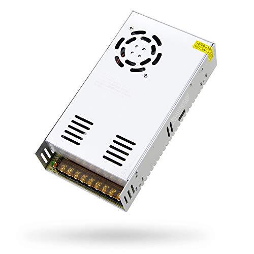 SHNITPWR - Fuente de alimentación de 12 V, 30 A, 360 W, adaptador de CA a CC, 12 voltios, 30 amperios, convertidor de alimentación, controlador LED, 110 V, sistema de seguridad CCTV, monitor LCD