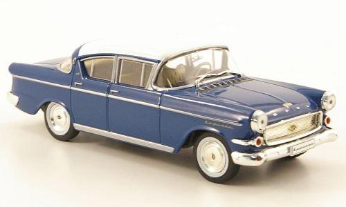 Opel Kapitän P2.5 L, blau/weiss (ohne Magazin), 1958, Modellauto, Fertigmodell, MCW-SC40 1:43