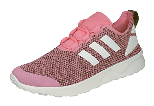 adidas Originals ZX Flux ADV Verve Zapatillas de Deporte para mujer-Pink-37.33