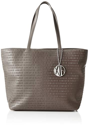 ARMANI EXCHANGE Womans Shopping - Borse Tote Donna, Marrone (Taupe), 29.5x10x43 cm (B x H T)