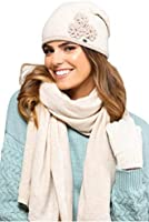 Kamea - 2 pieces Winter set for women Valencia - elegant hat with matching scarf