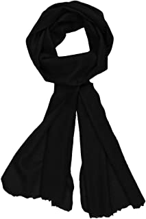 Ayurvastram Soft Thin Woven Pure Cashmere Neck Scarf, Warmer, 15X73