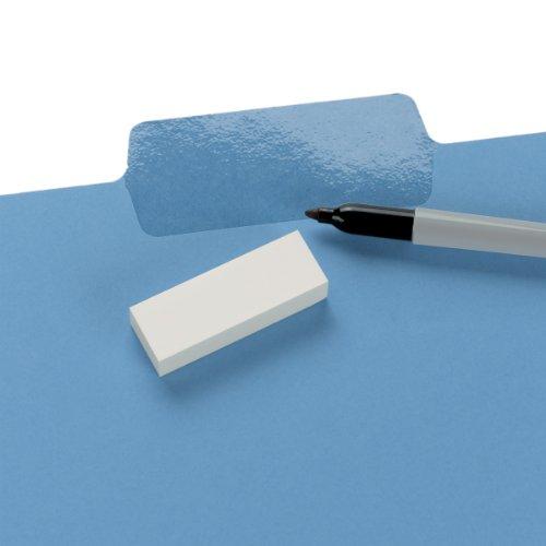 Smead Erasable SuperTab File Folder, Erasable Oversized 1/3-Cut Tab, Letter Size, Assorted Colors, 24 per Pack, (10480) Photo #2