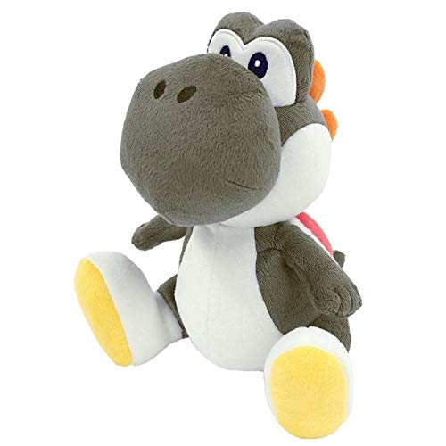 Little Buddy 1392 Super Mario Bros All Star Collection 7' Black Yoshi Plush
