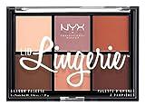 NYX Professional Makeup Paleta de sombras de ojos Lid Lingerie Eye Shadow Palette, Pigmentos...