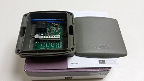 Somfy Récepteur RTS standard. 2 voies 433,42Mhz, 24 Vdc / Vac pour tous les télécommandes Somfy RTS. Numéro de catalogue: 2400556/1841022