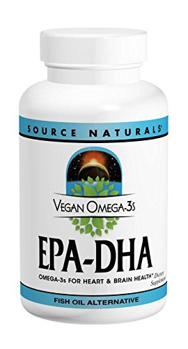 SOURCE NATURALS Omega 3s Epa Dha Vegetable
