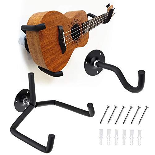 Soporte Pared Guitarra,Soporte Pared Guitarra Electrica,Guitarra Soporte de Pared de Montaje,Colgador de...