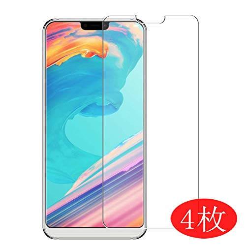 【4 Pack】 Synvy Screen Protector for ULEFONE T2 / T2 PRO 0.14mm TPU Flexible HD Clear Case-Friendly Film Protective Protectors [Not Tempered Glass] New Version