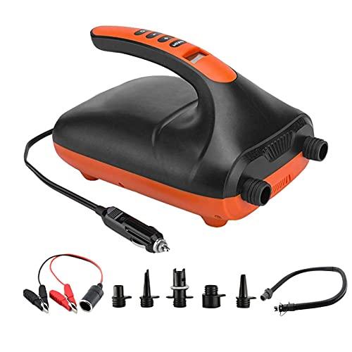 Bomba de Aire de Bomba Inflable de Coche eléctrico portátil para Tabla de Remo al Aire Libre y colchón de Aire de Barco Stand Up Paddle Kayak Board