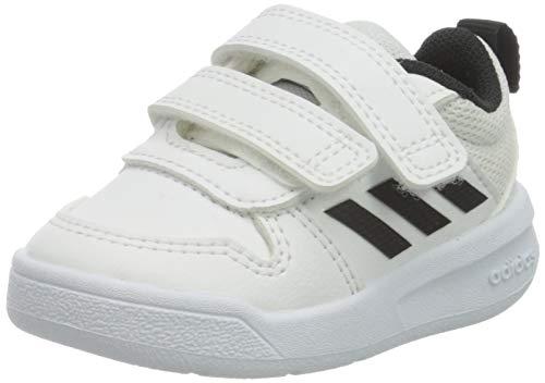 adidas Tensaur C, Unisex-Kids Running Shoes, FTWR White Core Black, 4 UK