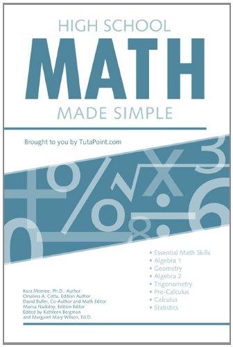 High School Math Made Simple (English Edition)