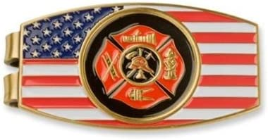 Coins For Anything Inc Fireman Money Clip