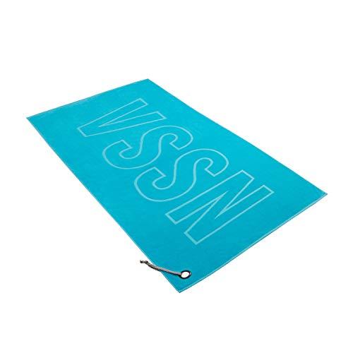 Vossen Strandtuch VSSN Turquoise, 100 x 180 cm