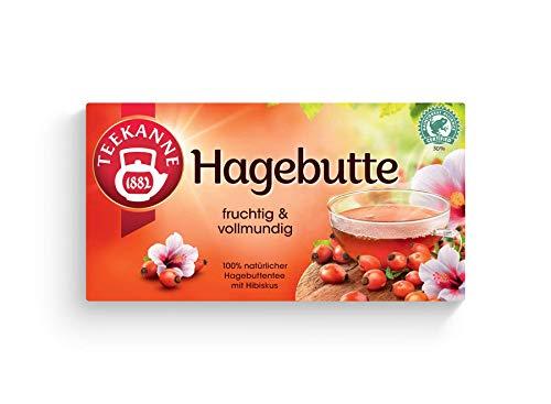 Teekanne Hagebutte 50 Beutel, 12er Pack (12 x 175 g)