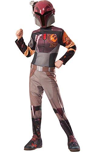 Rubies Officielle Disney Star Wars Sabine Classique, Enfant, Costume – Large