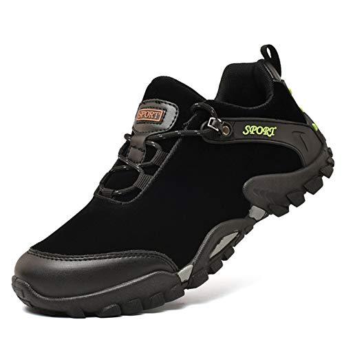 shoe Outdoor-Herren Wanderschuhe Sportschuhe, Plattform rutschfeste Langlaufschuhe, Leichte Lässige Mountainbike-Schuhe, Geeignet Zum Wandern Im Freien