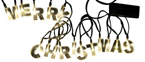 joka international GmbH Merry Christmas Lichterkette 2 Stück Weihnachten Beleuchtung