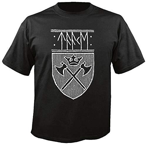 TAAKE - Noregs Vaapen - Shield - T-Shirt Größe M