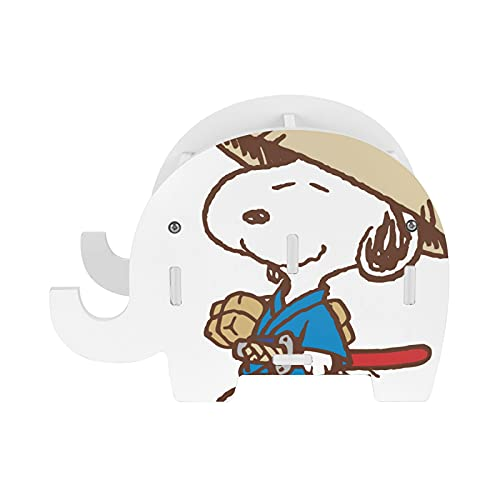 Snoopy - Soporte para lápices con soporte para teléfono, accesorios de oficina, soporte para tableta, organizador de escritorio