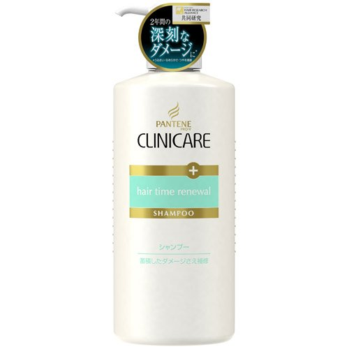 P&G PANTENE CLINICARE   Shampoo  hair time renewal 550ml (Japan Import)