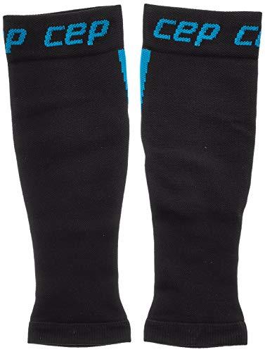 CEP – Nighttech Calf Sleeve 2.0 Reflektierende Beinstulpen/Wadenschoner für Damen, Socken für präzise Wadenkompression, Unisex, WS4L0, blau, II - 2