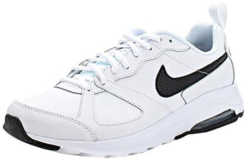 Nike Herren Air Max Muse LTR Sneaker, WEIß/SCHWARZ, Size 8