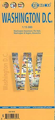 Washington D.C. 1 : 15 000 (Borch Maps)