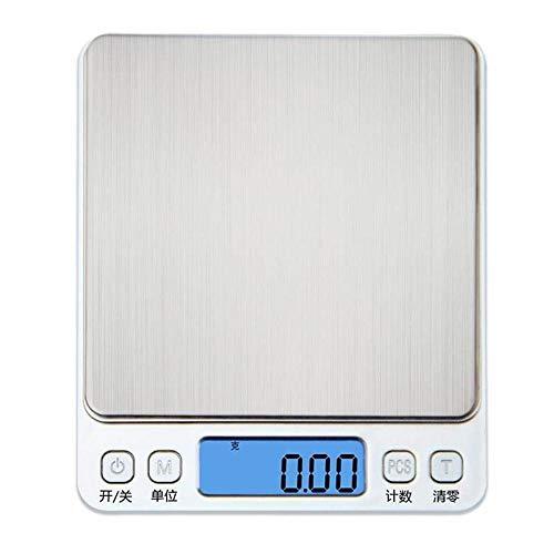 Küchenwaage Backschmuckwaage Elektronische Waage Küchenwaage 0,01 g Küchenwaage 0,1 g 500 g / 0,01 g