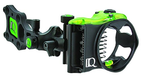 IQ Bowsights IQ Pro 7 Pin Compound Bow Archery Sight with Retina Lock Technology, Left Hand