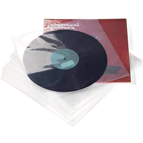 Glorious 31 cm (12,5 Zoll) LP Schutzhüllen Set (100 St.)