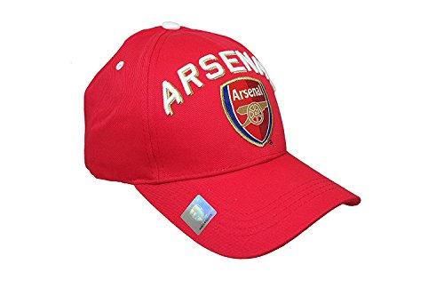 RHINOXGROUP Arsenal F.C. Authentic Official Licensed Soccer Cap (Medium, Arsenal 2)
