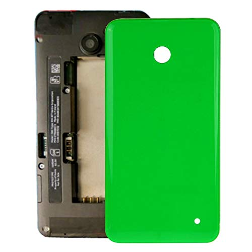 Liluyao Telefon-Ersatzteile Gehäuse Batterie Rückseite + Seitentaste for Nokia Lumia 635 (Orange) (Farbe : Green)