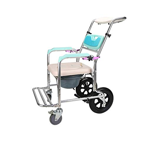Feceyq Toilet Chair, Aluminum Alloy Safety Frame, Can Be Assembled Without Tools, Soft Backrest, is The Best Choice for Seniors and Pregnant Women