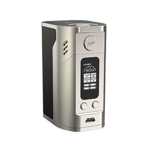 Wismec Reuleaux RX300 Quad-Akku Box Mod, Farbe: Silber