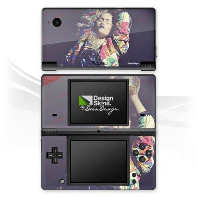 DeinDesign Skin kompatibel mit Nintendo DSi Aufkleber Sticker Folie Woman Frau Jacke