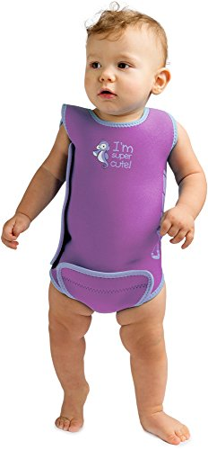 Cressi Baby Warmer Mutino/Body in Neoprene Ultra Stretch per Neonati/Bambini, 6/12 Mesi, Lilla