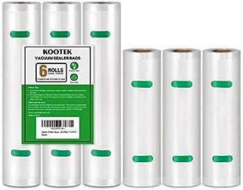 6-Rolls Kootek Food Saver Vacuum Sealer Bags