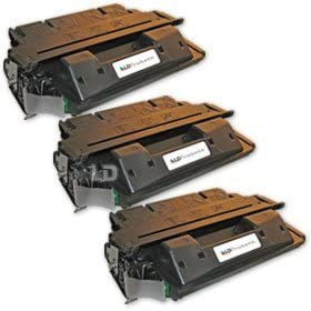 LD Remanufactured Replacement for HP 27X C4127X High Yield (Black, 3-Pack)