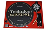 Technics Face Plate for use Technics SL-1200/SL-1210 M5G Only , It's not Working with MK2 Or MK5 , Red