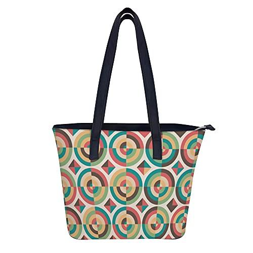 Elementos decorativos vintage monederos y bolsos para las mujeres de moda de las señoras de cuero de la PU asa superior Satchel hombro bolsas