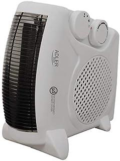 Adler - Ad77 - Calefactor termoventilador de sobremesa, Vertical o Horizontal, función Ventilador