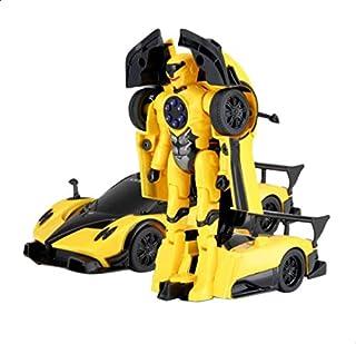 لعبة سيارة قابلة للتحول من راستار - اصفر واسود