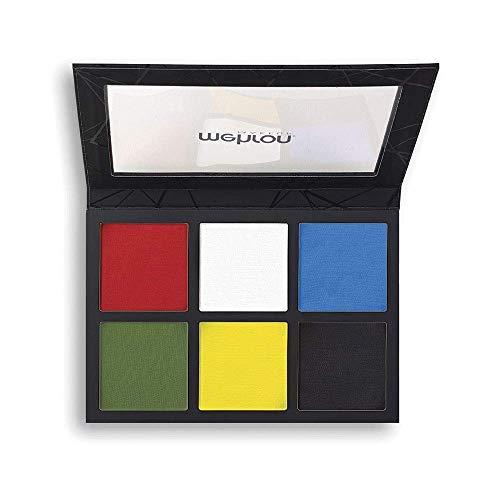 of mehron face paints Mehron EDGE Professional Face & Body Makeup 6-Color Palette (6 ounce)