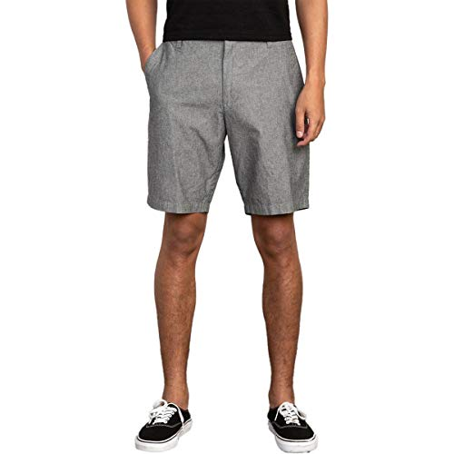 RVCA mens Thatll Walk Oxford Casual Shorts, Rvca Black, 32 US