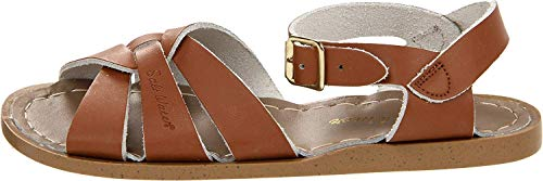 Price comparison product image Salt Water Sandals by Hoy Shoe Original Sandal (Toddler / Little Kid / Big Kid / Women's),  Tan,  7 M US Big Kid