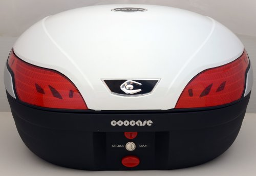 クーケース(coocase) リアボックス S48 アストラ 48ℓ BASIC(インナーライナー標準装備) パールホワイト CN40110