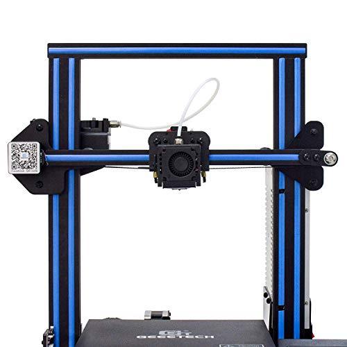 Impresora 3D GEEETECH A10 Prusa I3 Kit de bricolaje de montaje rápido y fácil con área de impresión 220 × 220 × 260 mm. Trabaje en caso de un apagón eléctrico